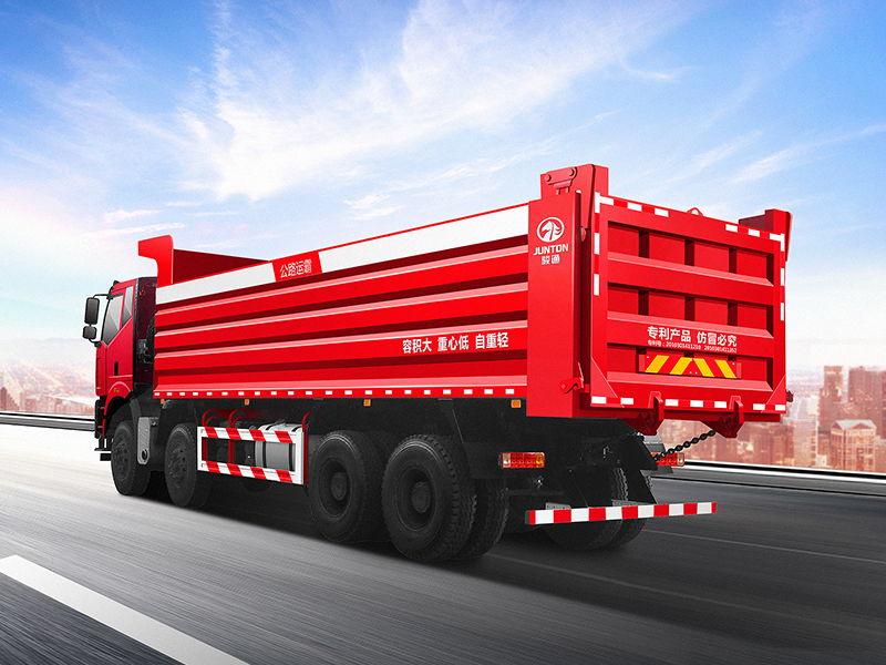 Dump truck-road transport